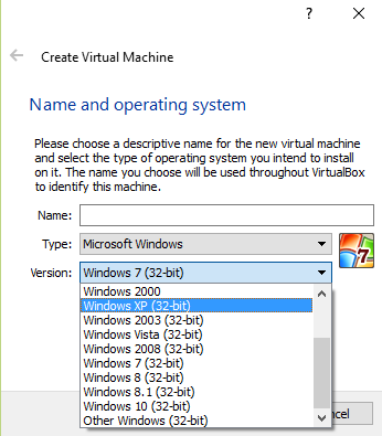 Virtualbox only 32 bit