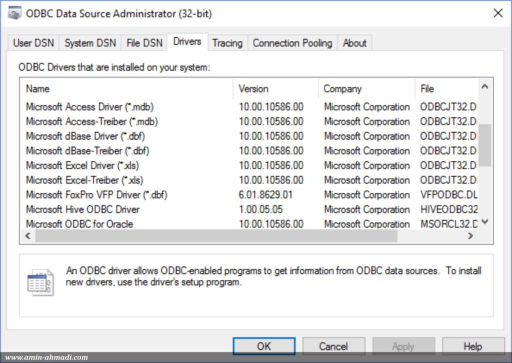 How to use ODBC in Qt - Amin